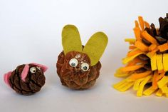 Pine cone pets rabbit