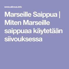 Marseille Saippua | Miten Marseille saippuaa käytetään siivouksessa Organization, Organizing, Clean House, Cleaning, Diy, Marseille, Getting Organized, Do It Yourself, Organisation