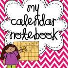 $6.00 My Calendar Notebook {A Calendar Connection}