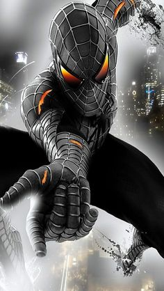 Black Symbiote Spider-Man More @ https://pinterest.com/ingestorm/comic-art-spiderman-friends & http://groups.google.com/group/Comics-Strips & http://groups.google.com/group/ComicsStrips & http://groups.yahoo.com/group/ComicsStrips & http://www.facebook.com/ComicsFantasy & http://www.facebook.com/groups/ArtandStuff