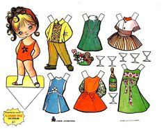 muñecas recortables, paper dolls, Бумажные куклы , bambole da carta, poupées en papier, 纸娃娃 , - merimartinez1 - Picasa Web Albums