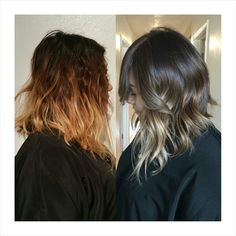 brassy brown hair fix - Google Search | Ombre Hair ...