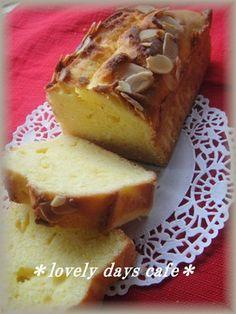 【クリームチーズ✿パウンドケーキ】しっとりしたパウンドケーキ〜簡単に作れます!A simple moist pound cake using cream cheese.
