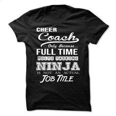 Cheer Coach Perfect Xmas Gift - #sweatshirts #the first tee. SIMILAR ITEMS => https://www.sunfrog.com//Cheer-Coach-Perfect-Xmas-Gift.html?id=60505