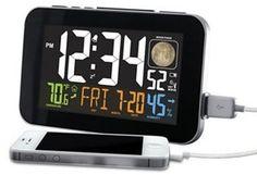 La Crosse Technology Atomic Color Alarm Clock