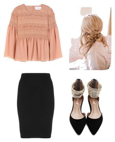 """""""Wednesday night"""" by riahnicole-1 ❤ liked on Polyvore featuring See by Chloé and Manon Baptiste"""