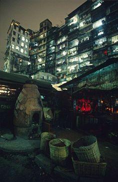 Vertical Slums • Kowloo Walled City, Hong Kong