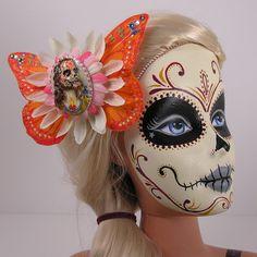 barbie, jesus and dia de los muertos!!!