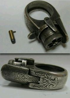 5-shot Ring Gun, 1800's