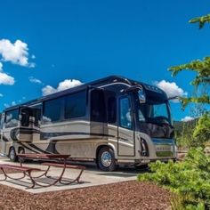 Exploring New Mexico by RV: Best Places to Camp in the Land of Enchantment New Mexico Camping, Angel Fire, Best Places To Camp, Land Of Enchantment, Recreational Vehicles, Exploring, Rv, Travel, Motorhome