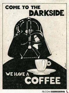 Abbiamo il caffè