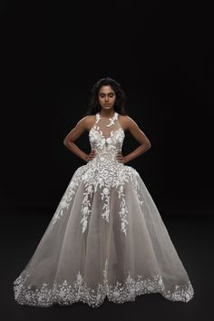 Give in to temptation this season, as serpents draw you into the 'Garden Of Eden', with Karleo's new collection of bridal couture that traps you in captivating paradise. The beauty of the utopia that White Cocktail Dress, Cocktail Gowns, Best Fashion Designers, Indian Designers, White Wedding Gowns, White Cocktails, Bridal Hair Accessories, Wedding Blog, Ball Gowns