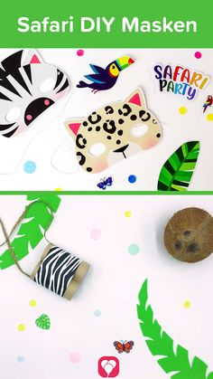 Safari Party, Safari Photo Booth, Photo Cutout, Short Pixie Haircuts, Engagement Ring Cuts, Party Printables, 4th Birthday, First Birthdays, Playing Cards