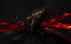 Download wallpapers The Hunter, 4k, sword, art, Bloodborne