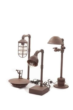 Industrial Lamps These Vintage Inspired Sold Separately Are Carefully Crafted By A Local Artist Here In Los Angeles There Very Cool Way To