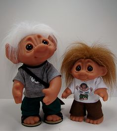 Dam Troll Brothers by Toy Zoo, via Flickr