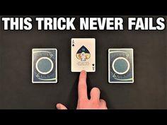 Cool Card Tricks, Magic Card Tricks, Magic Cards, Kids Party Games, Fun Games, Magic Tricks Tutorial, Magic Tricks For Kids, Science Tricks, Learn Magic