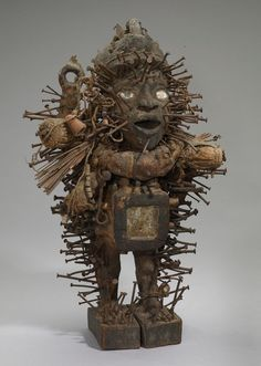 How were African art and religion related? Religion In Africa, Maleficarum, Afrique Art, African Sculptures, Art Populaire, Art Premier, Art Africain, African Masks, Art Moderne