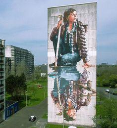 New mural in Ostend, Belgium for the good people @thcrstlshp massive thanks to @henrik_haven for the photos.