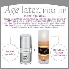#protip #eyecreme #iconceal @Jan Wilke Allen Skincare available at Shell Plastic Surgery!
