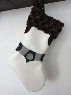 Custom Star Wars Princess Leia vinyl stocking great for celebrating the holidays with! Lined with fleece Each stocking is made to order so there