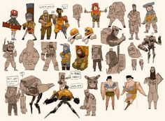 character research by Zedig on DeviantArt