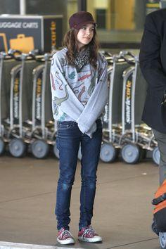 Ellen Page style.