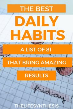 Daily habits to track that will drastically improve the quality of your life and optimize you as a human being. #habittracker #goodhabits #dailyhabits #healthyhabits #habits #morningroutinehabits #habitsforsuccess