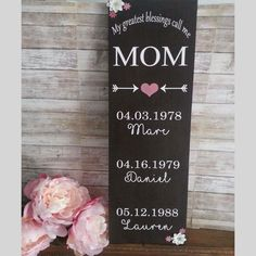 Give mom something she can cherish and look at everyday.