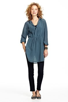 Annette Pintuck Tunic::NEW ARRIVALS::CLOTHING::Calypso St. Barth