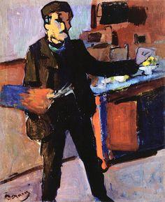 Self-portrait, Andre Derain                                                                                                                                                     More