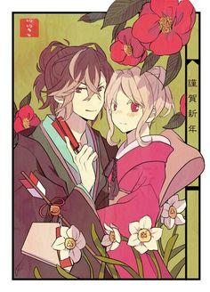 Diabolik Lovers - Yuma Mukami, Yui Komori