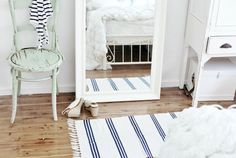 beach cottage mirror