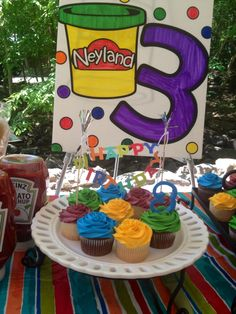Combined Birthday Parties, 3rd Birthday Parties, Birthday Ideas, Play Doh Party, Party Themes, Party Ideas, Little Girl Birthday, Play Dough, Mj