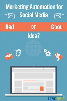 Marketing Automation for Social Media – Bad or Good idea? Ian Cleary  Created: July 6, 2015  Updated: July 6, 2015
