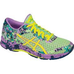 Asics Women's Gel Noosa Tri 11 Shoe - 8 - Patina Green / Flash Yellow / Violet