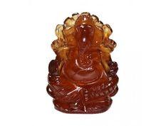 Ganesha in Gomedh / Hessonite – 55 carat
