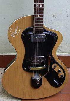 WANDRE' POLYPHON -WITH DAVOLI PICKUP MADE IN ITALY 60s