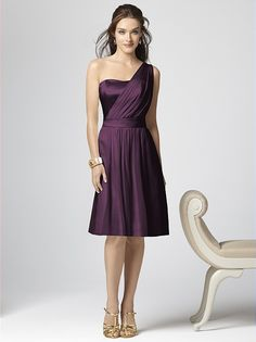 Dessy Collection Style 2862 (in aubergine or bordeaux?) http://www.dessy.com/dresses/bridesmaid/2862/#.Uwf8nv0WbgR