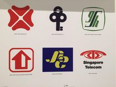These are some common logos seen all around Singapore. These logos belong to Governmental & Public Organizations. These logos designed are to signify a company and we are able to identify the company just by looking at the logo.