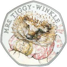 2016 50p - Mrs Tiggy-Winkle