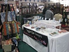 Craft Show Booth Height and Banner