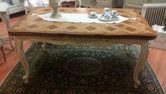Antico tavolo provenzale shabby