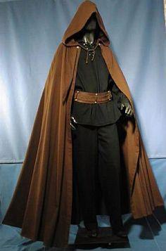 Hooded traveler's cloak