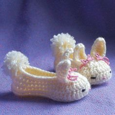 baby booties Bunny House Slippers