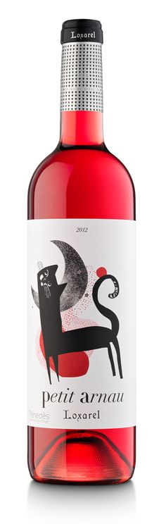 I'm a big sucker for wine labels... This one is cute. Some are very sophisticated and others are sooper cool!!! AJ