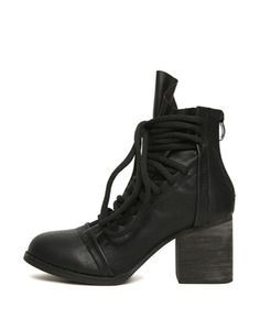 Strappy Pointed Toe Zipped Ankle #vegan #leather #Boots $49 *reg $83 #BlackFive #shoes #heels #women #apparel #ladies #fashion #Accessories #shopping #mystylespot