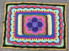 Crochet between worlds: Around the Bases CAL - Afghan Square Round Up!