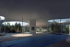 art museum of Hiroshi Senju.