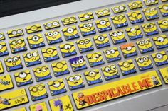 So it actually took me quite a while to find where I could get these Awesome Minions Keyboard Stickers / Decals. - But I finally found them!